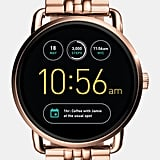 Fossil Q Wander Gen 2 Rose Gold-Tone Stainless Steel Touchscreen Smartwatch