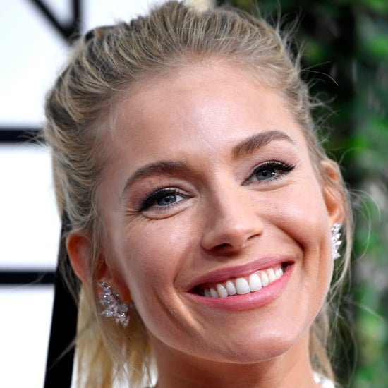 Sienna Miller Makeup and Hair at the 2017 Golden Globes