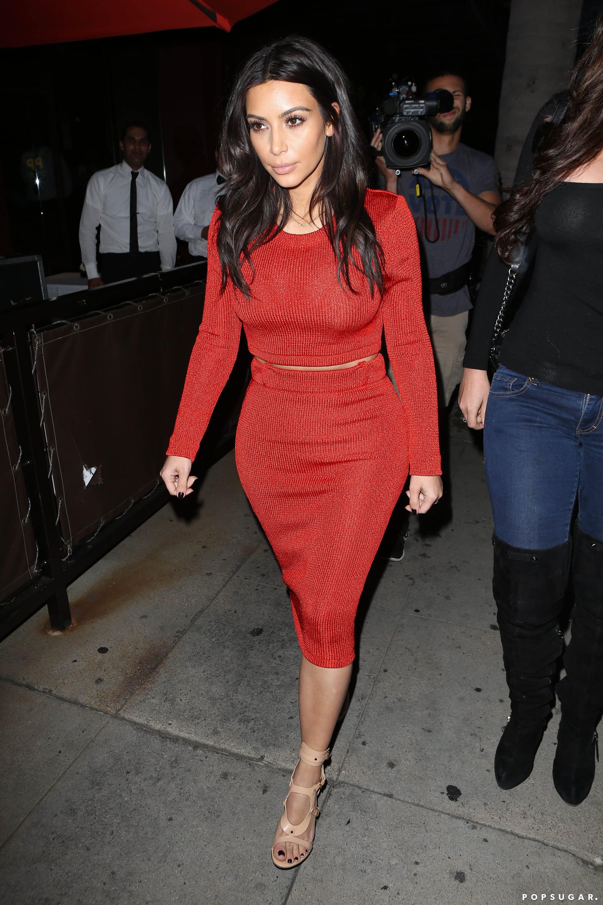 Don't Worry, Kim Kardashian Looks Normal Again