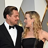 Leonardo DiCaprio and Kate Winslet at the Oscars 2016