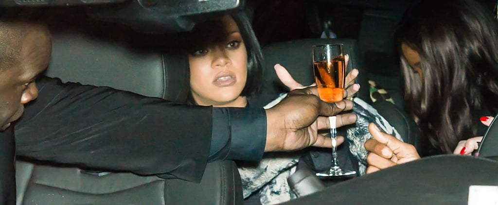 Rihanna Called Out For Stealing Wine Glasses Video