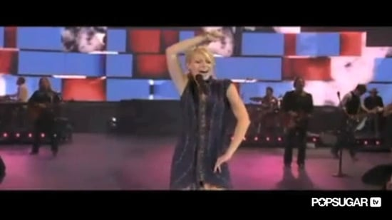 "Video of Gwyneth Paltrow Singing ""Shake That Thing"" in Country Strong"