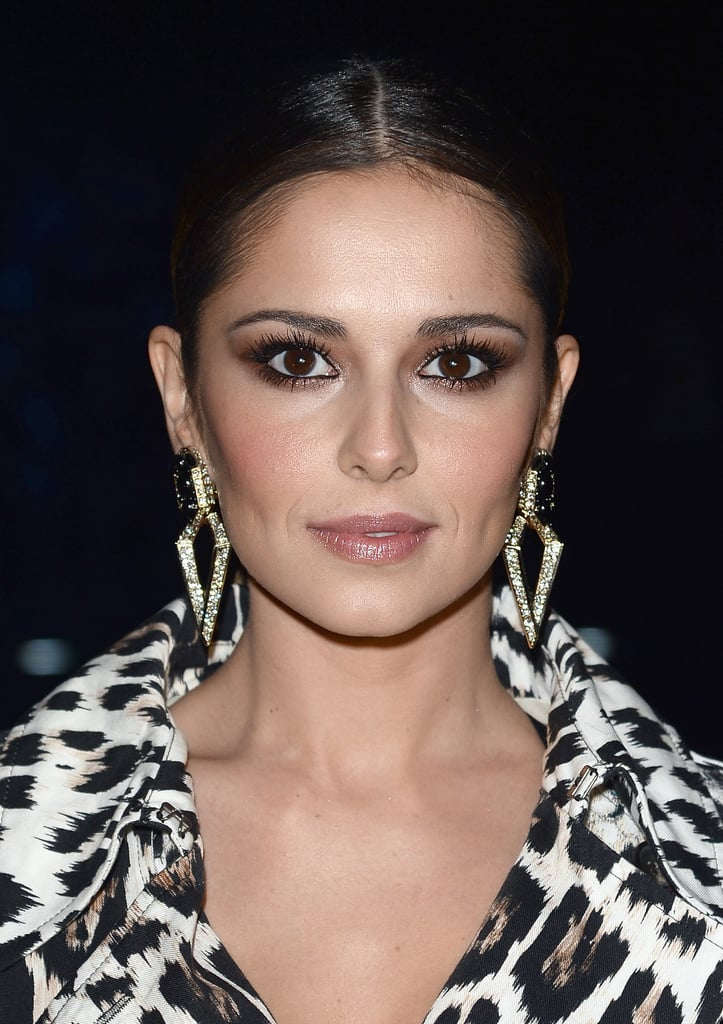 Cheryl Cole At Roberto Cavalli Celebrity Hair And Makeup At Milan