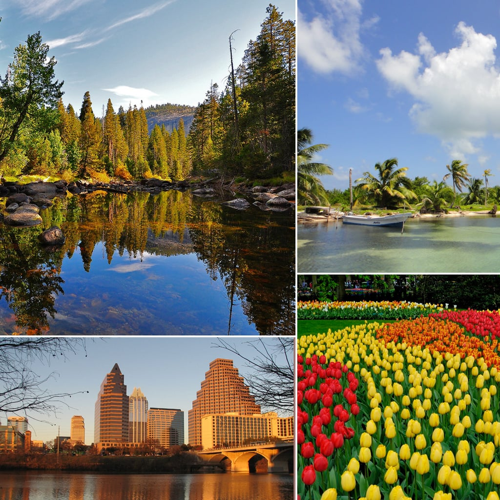 Spring Travel Destinations