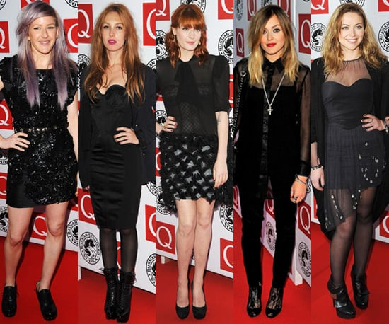 Photos of Celebrities at the 2010 Q Awards in London