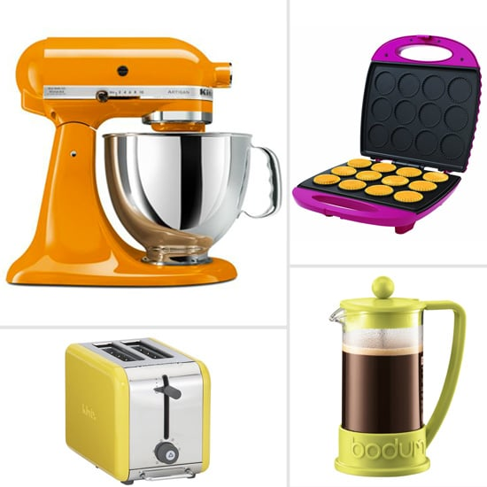 colored small kitchen appliances colorful kitchen appliances popsugar food 5565
