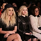 Kesha and Abigail Breslin at NYFW
