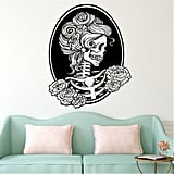 BibiTime Halloween Skull Wall Art Decal