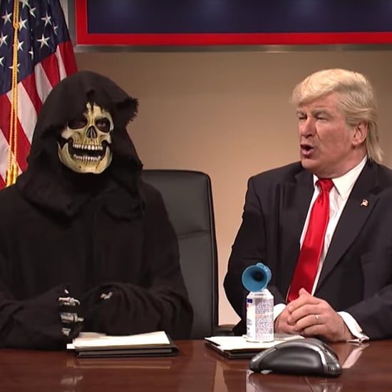 Saturday Night Live Steve Bannon Grim Reaper Skit