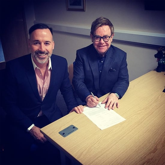Elton John and David Furnish Are Married
