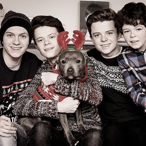 Cute Pictures of Tom Holland's Family