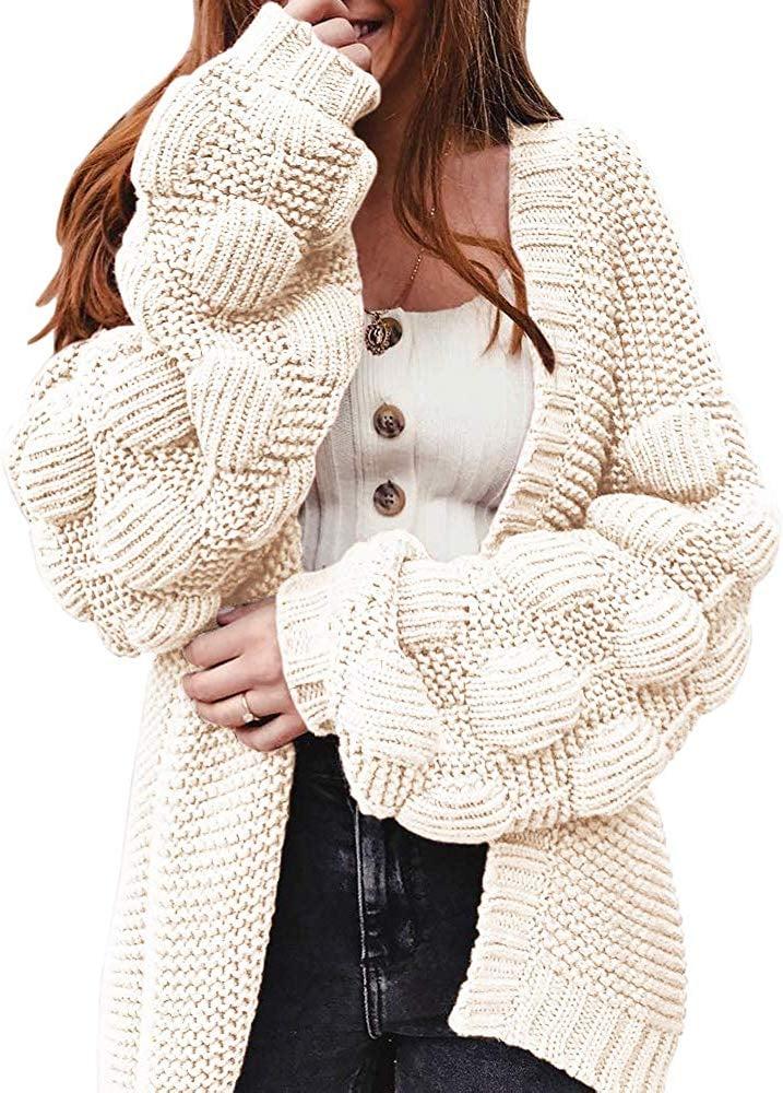 Ferbia Long Cardigan Sweater