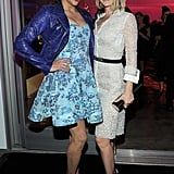 Paula Patton and Ali Larter posed together.