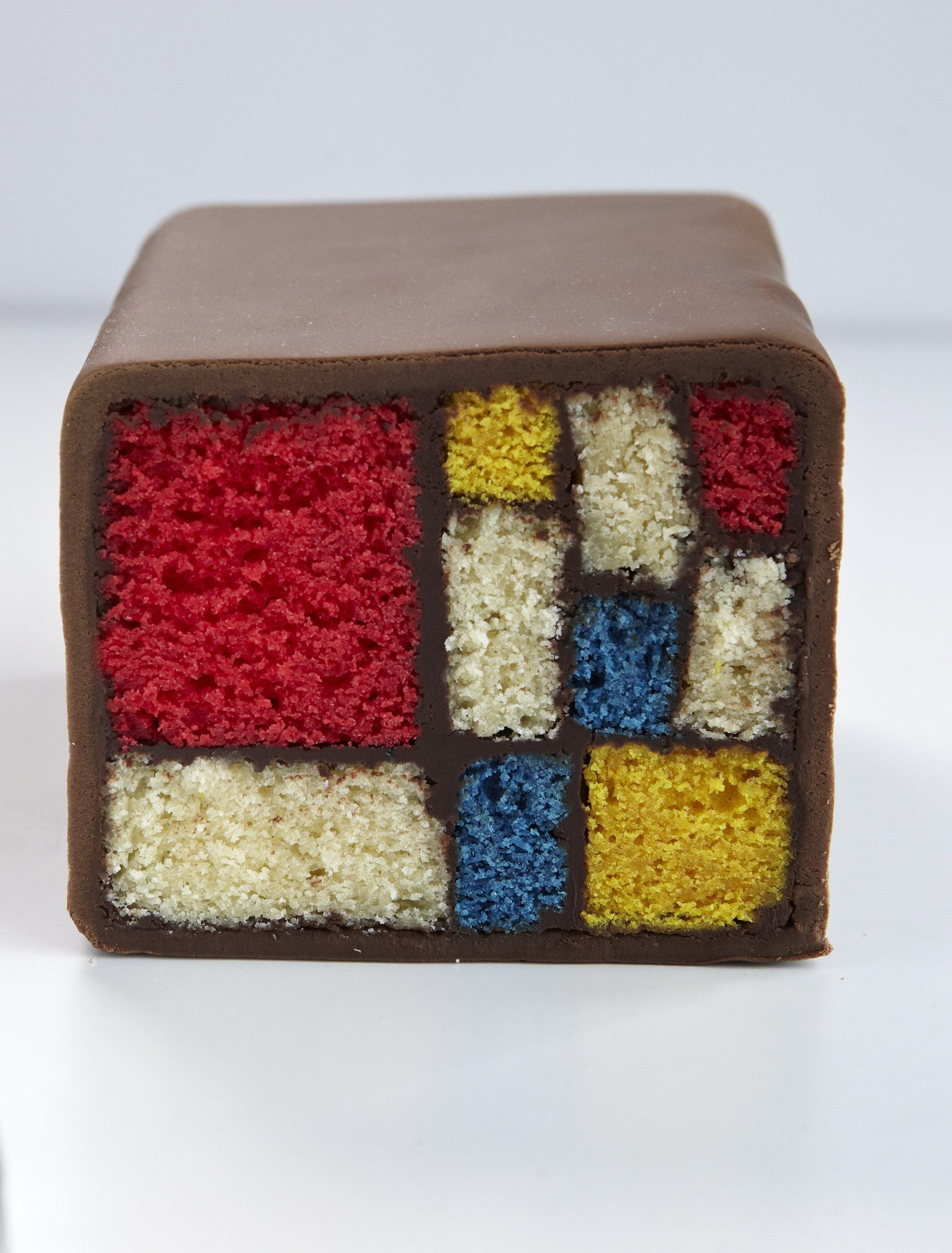 Mondrian-Inspired Battenberg