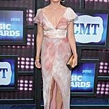 Faith Hill at the 2010 CMT Awards