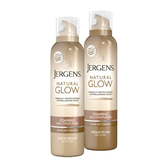 If you've also been a fan of the original Jergens Natural Glow lotion, you'll love the Foaming Daily Moisturizer ($10). The fast-drying formula gives you the gradual color you love, and now without any odor.