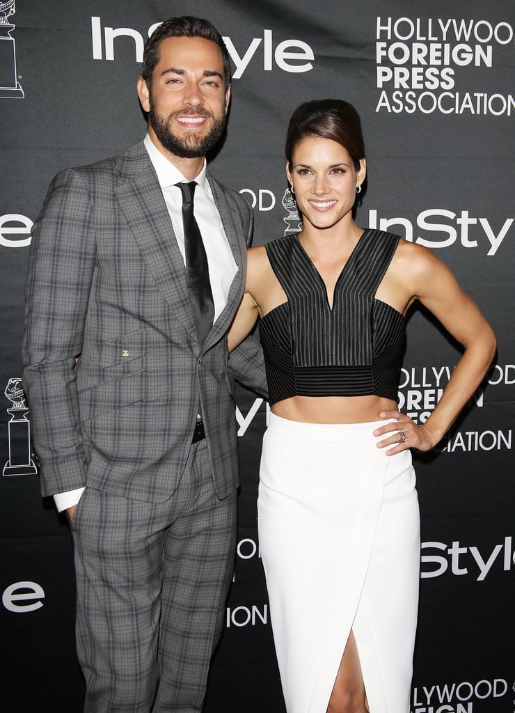 Zachary Levi and Missy Peregrym