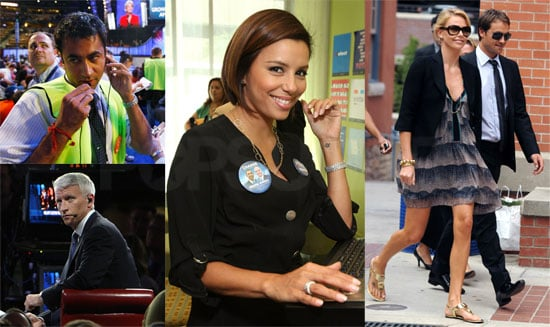 Photos of Celebrities Like Charlize Theron and Eva Longoria at Democratic National Convention in Denver