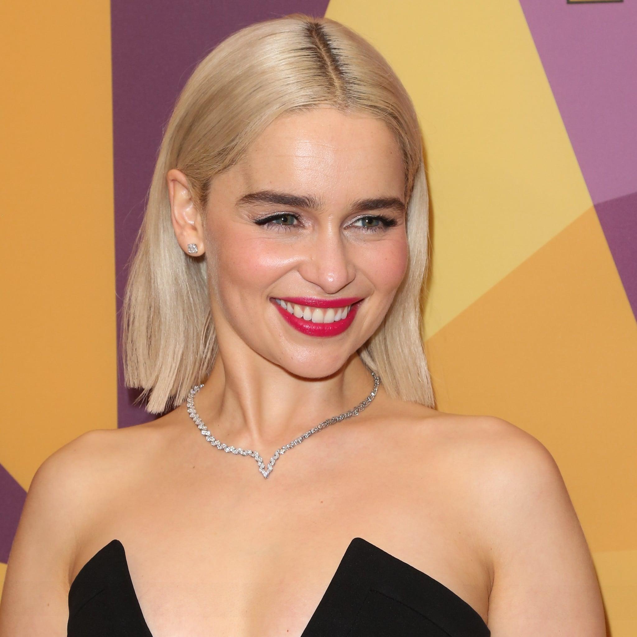 Emilia Clarke Pixie Cut September 2018 Popsugar Beauty Australia