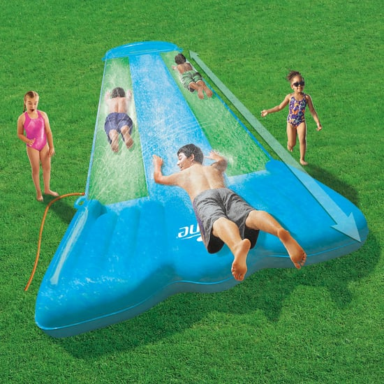 Aldi Crane Triple Water Slide With Speed Ramp