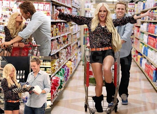 Photos of Heidi Montag and Spencer Pratt Grocery Shopping