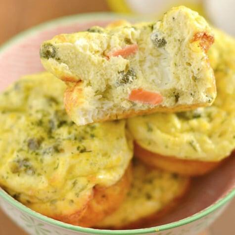 Paleo Lox Caper Egg Muffins