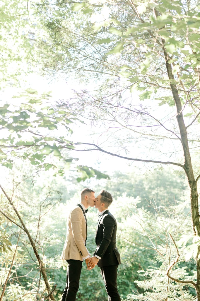 See This Couple's Intimate Summer Wedding in the Woods
