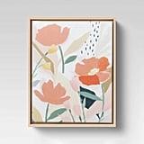 Floral Canvas Art