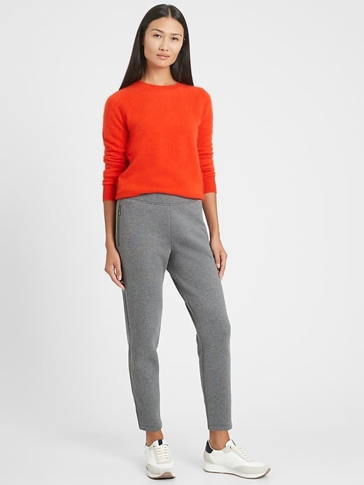 Banana Republic Cozy Fleece Commuter Jogger