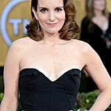 Tina Fey Makes a Glam Appearance For 30 Rock's Final SAG Awards