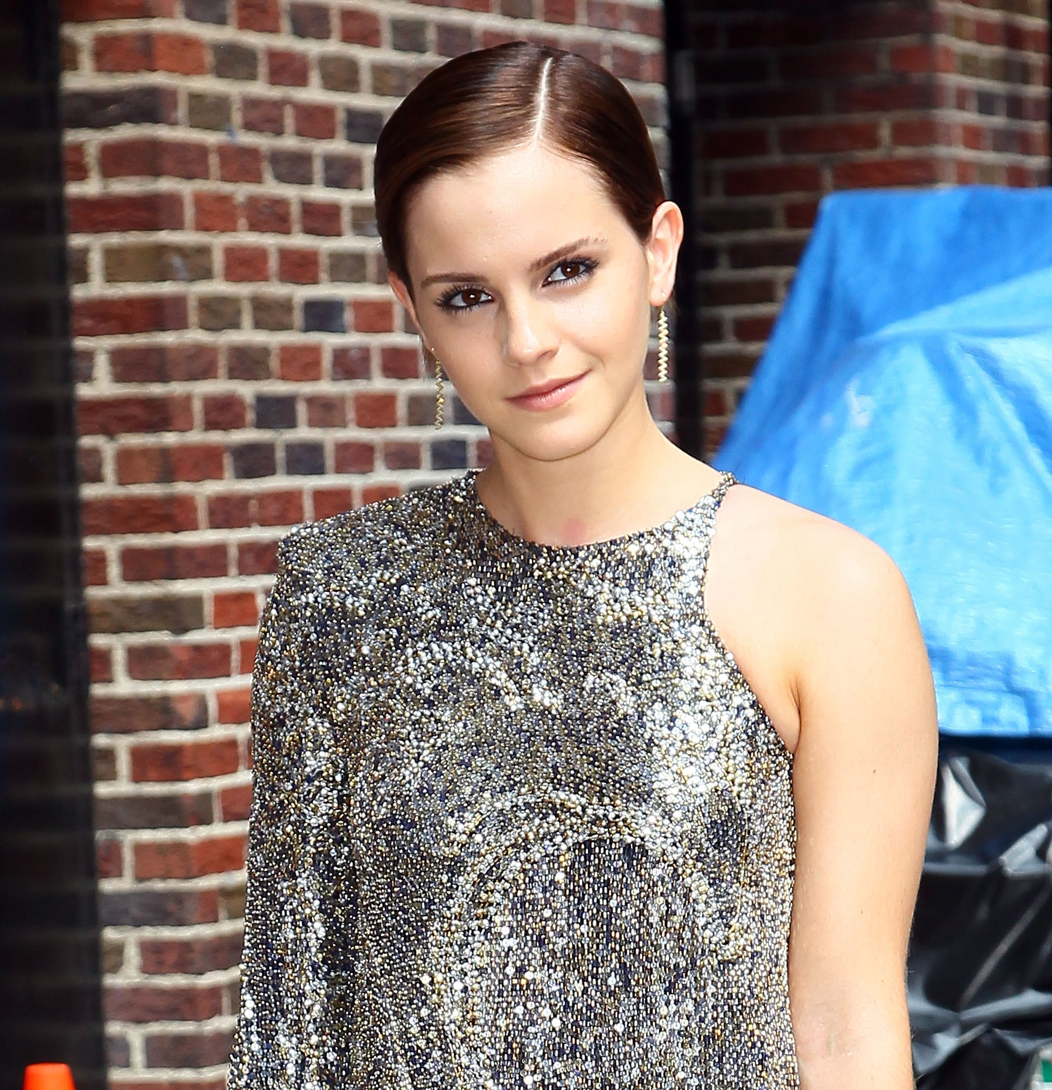 Remember Emma Watson with a pixie cut? The actress liked to style her cut close to her head.