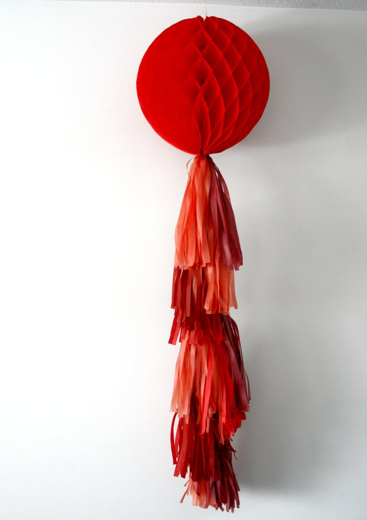 Large Honeycomb Tassel Ornament