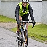 Pippa Middleton Keeps a Smile on Her Face During a 50-Mile Duathlon