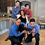 JD Scott, Drew Scott, Hilary Farr, David Visentin, and Jonathan Scott