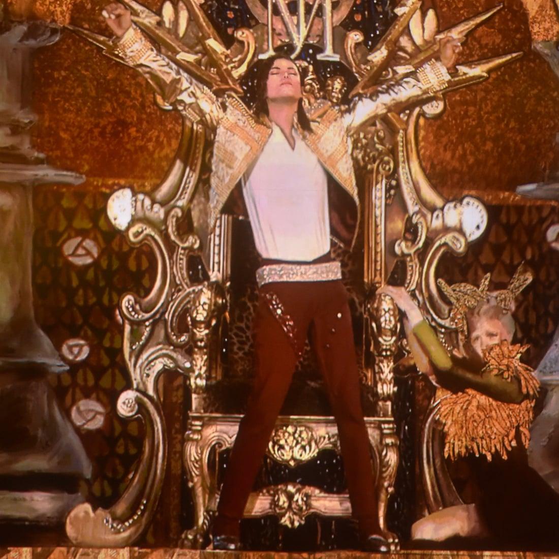 Michael Jackson Hologram at 2014 Billboard Music Awards | POPSUGAR