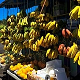 Bananas, papayas, pineapples — you name it, chances are you will stumble upon it at one of the countless produce stands peppered throughout the Big Island. The fruit here is so juicy, I remember eating an entire pineapple in one sitting. It was that good.