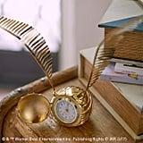 Golden Snitch Clock ($49)