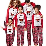 santa claus christmas pajamas sets