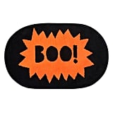 "Evergreen ""Boo!"" Tufted Bath Rug"