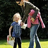 Jennifer Garner and Her Girls Reconnect With Their Favorite LA Places