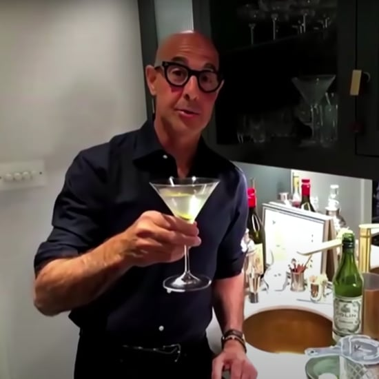 Watch Stanley Tucci Teach James Corden How to Make a Martini