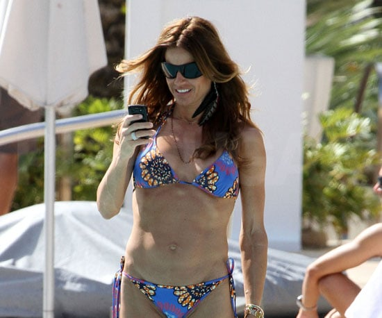 Slide Photo of Real Housewife Kelly Bensimon in a Bikini