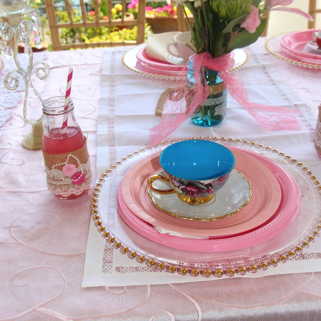 vintage birthday tea party popsugar family