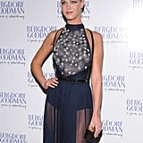 Erin Heatherton wore a Spring 2013 Jason Wu gown to attend the  Bergdorf Goodman 111th Anniversary Celebration in NYC.