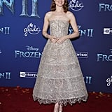 Evan Rachel Wood at the Frozen 2 Premiere in Los Angeles