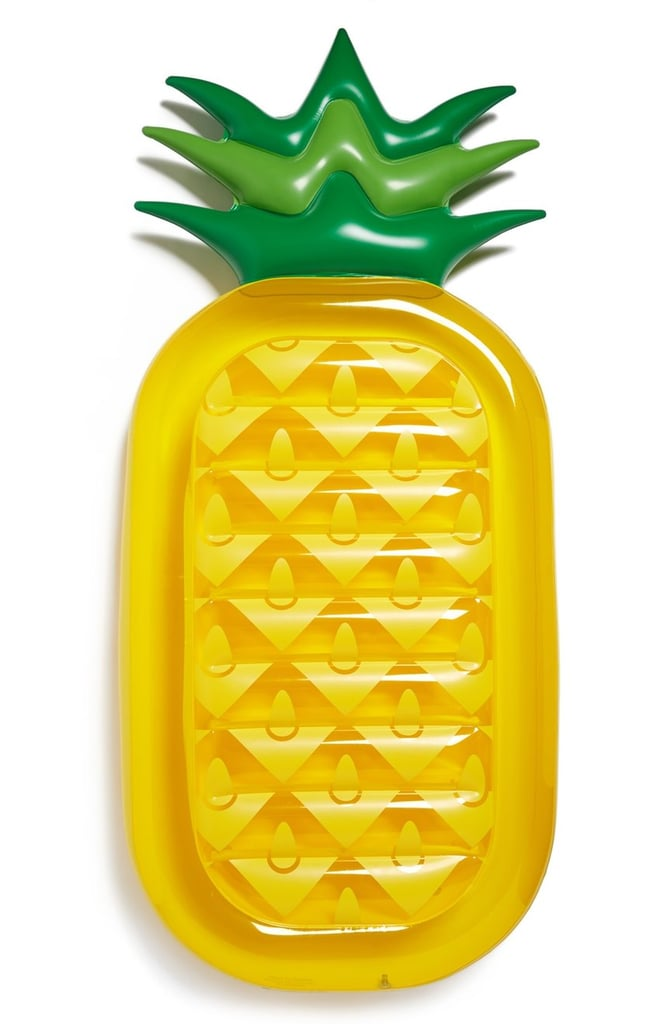 Who needs a flamingo float when you have a pineapple one? Sunnylife Inflatable Pineapple Pool Floatie ($60)