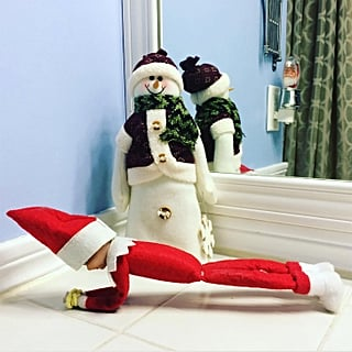 Elf on the Shelf Fitness Ideas