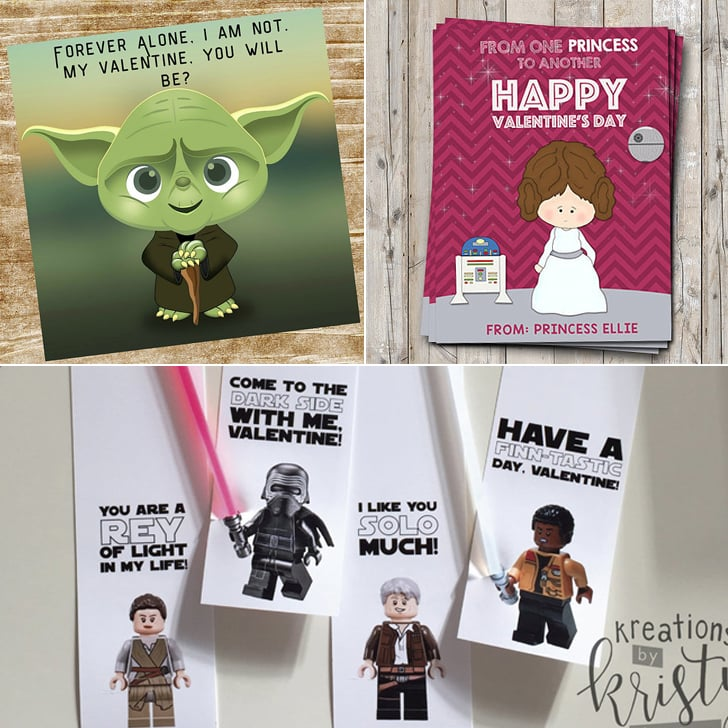 Star Wars Kids Valentines Day Cards – Star Wars Valentines Day Cards