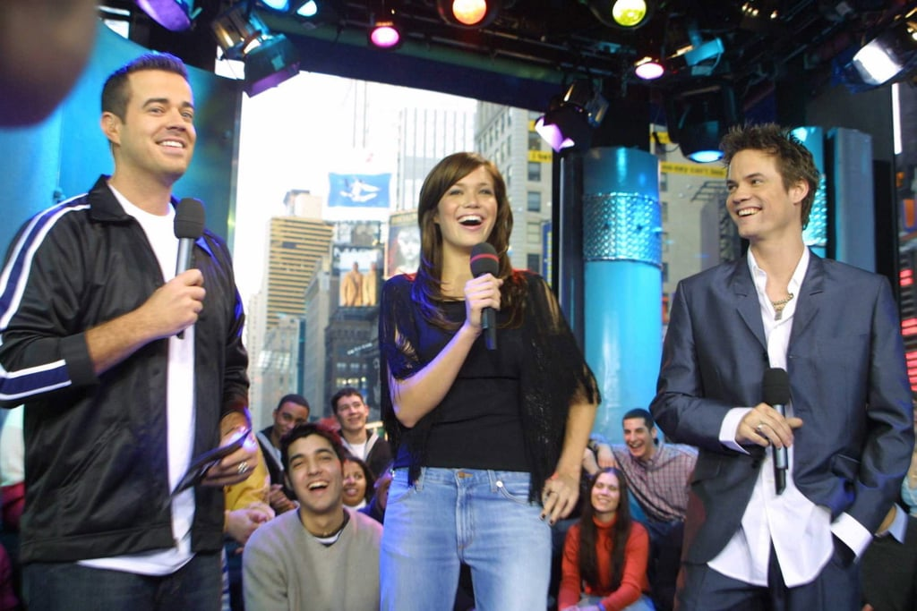Mandy Moore and Shane West made an appearance to promote A Walk to Remember in 2002.