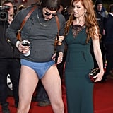 Sacha Baron Cohen and Isla Fisher Have the Strangest Red Carpet Date in History